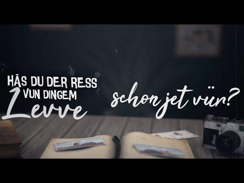 KASALLA - DER RESS VUN DINGEM LEVVE (offizielles Lyrics-Video)