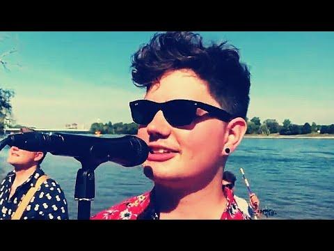 Stadtrebellen - (Hey Lisbeth) Surfen am Rhing - (et offizielle Video)