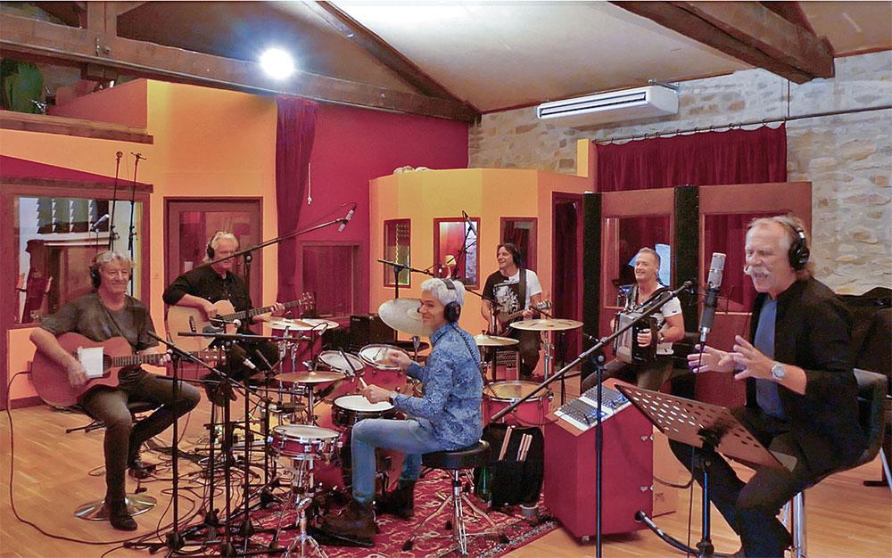 Höhner im Studio: via Pressebereich